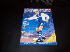 Oldham Athletic v Bournemouth, 2000/01